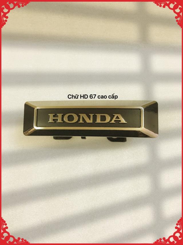 Chữ Honda 67 cao cấp