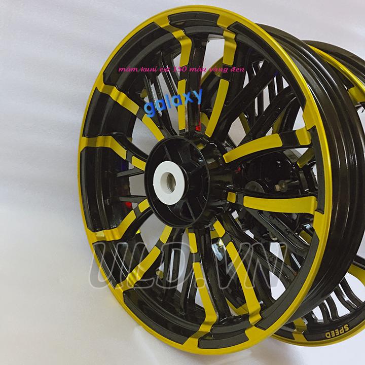 mâm kuni gắn ext 150 màu vàng hàng sịn phụ tùng xe máy