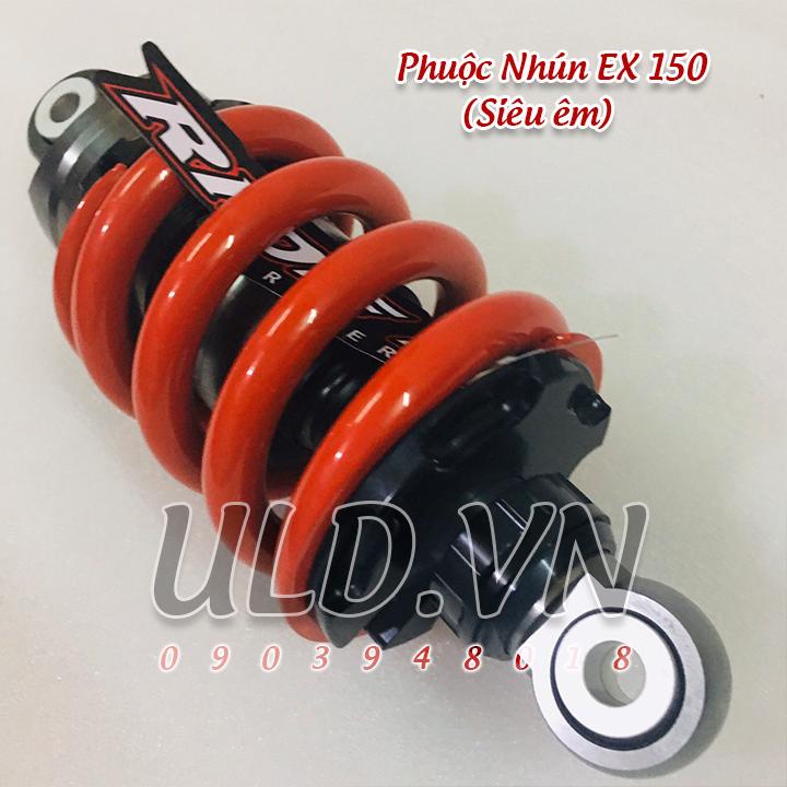 Phuộc Sau EX 150 Màu ĐỎ