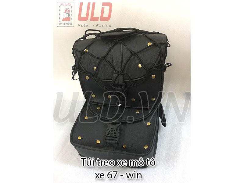 Túi treo xe màu đen